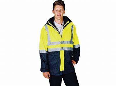 JACKET Hi-Vis - Waterproof - 4 in 1 COMBO
