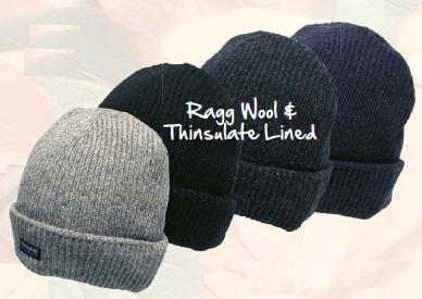AVENEL Shetland Wool Beanie with Thinsulate Lining 2440