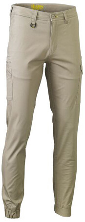 BISLEY Pants Stretch Cotton Drill Cargo Cuffed BPC6028