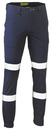 BISLEY Pants Stretch Cotton Drill Cargo Cuffed Taped BPC6028T