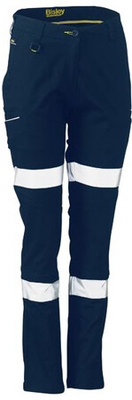 BISLEY Stretch Cotton Pants Taped Womens BPL6015T