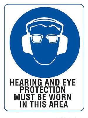Hearing + Eye Protection