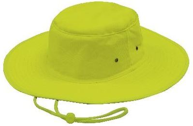 Luminescent Broad Rim Safety Hat 3024