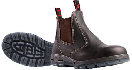 REDBACK Bobcat Elastic Sided Safety Boot USBOK