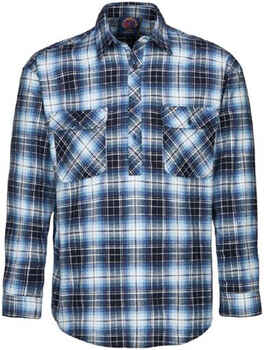 RITEMATE Shirt Flannelette Closed Front (RM123FCF)