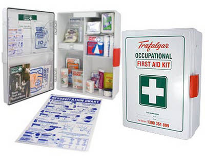 First Aid Kit Level 1 Wall Mount - 1-25 Employees