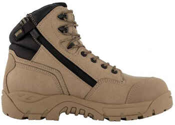 ***$AVE*** MAGNUM Sitemaster Lite Zip Sided Safety Boot (MSMR100)