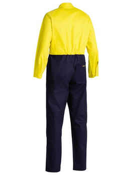 BISLEY Coveralls Cotton Drill Hi-Vis BC6357