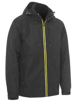 BISLEY Jacket Flex +amp Move Heavy Duty Wet Weather Dobby BJ6943