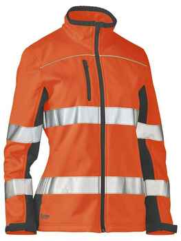 BISLEY Jacket Soft Shell Taped Womens (BJL6059T)