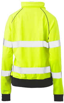 BISLEY Jumper Hi-Vis Fleece Taped Womens BKL6818T