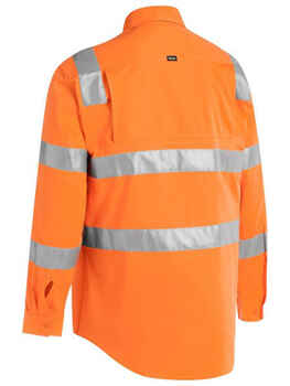 BISLEY Shirt Taped Hi Vis Bio Motion Rail BS6016T