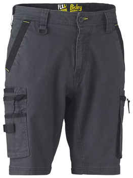 BISLEY Shorts Flex & Move Stretch Utility Zip Cargo (BSHC1330)