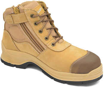 BLUNDSTONE Zip Sided Safety Boot (318)