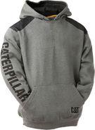 CAT Logo Panel Hooded Sweatshirt 1910802