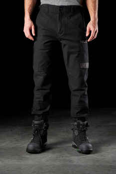 FXD Work Pants Cuffed WP-4 BLACK