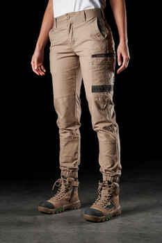 FXD Work Pants Cuffed Womens (WP-4W) KHAKI