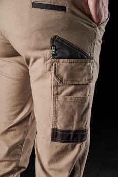 FXD Work Pants Cuffed Womens WP-4W KHAKI