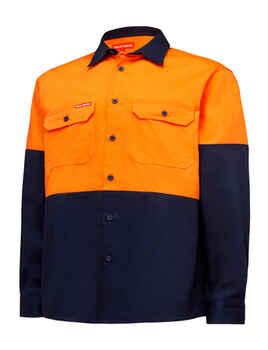 HARD YAKKA Shirt Hi Vis LS Y04605