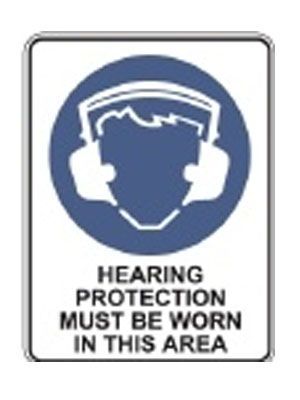 Hearing Protection Must Be Worn In This Area
