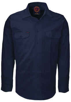 RITEMATE Shirt Open Front L/S (RM1000)