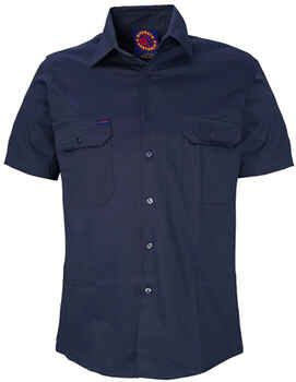 RITEMATE Shirt Open Front S/S (RM1000S)