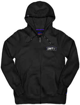 UNIT Hood CLAPPED Zip Thru 203115007