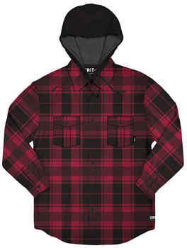 UNIT Shirt KENTUCKY Hooded Flannel 203113004